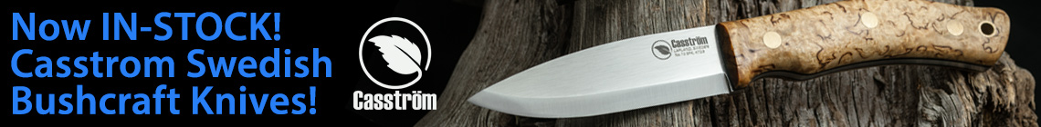 Bushcraft Knives from Casstrom of Sweden