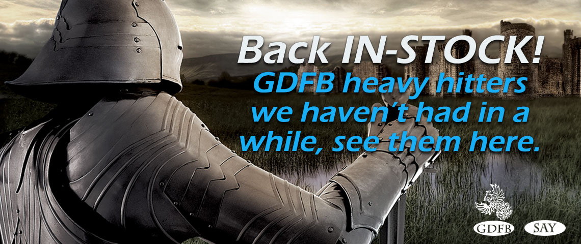 GDFB and SAY In-STOCK NOW