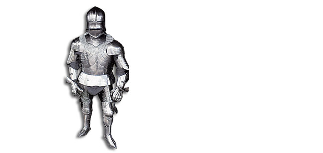 Gothic Suit of Armour, 18G