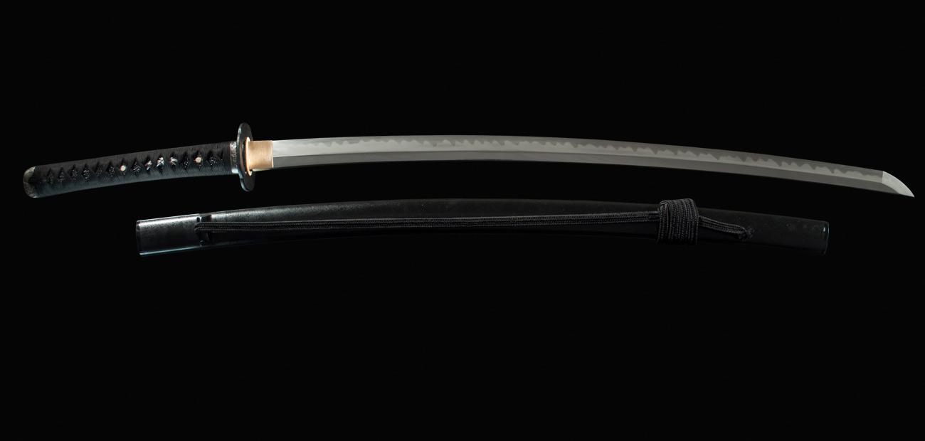 Black Tiger Samurai Sword T10 Kaneie Art Pro Knife Se3011 Katana