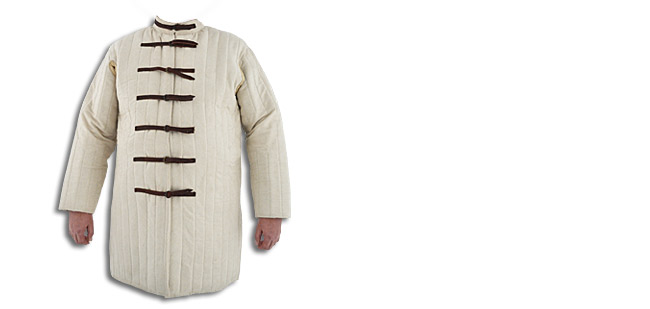 Gambeson, Natural, Buckle closure