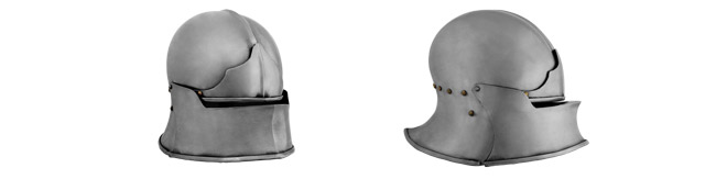 Jaw Bone Visor Helmet, 14G Large
