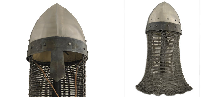 Norman Helmet w/Aventail