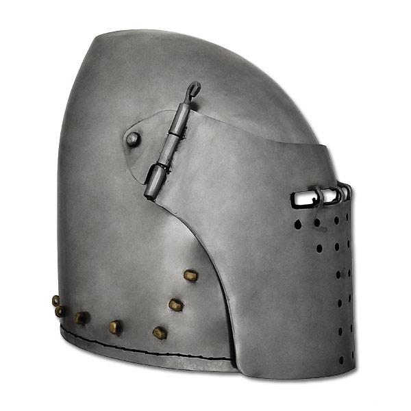 Great Bascinet Helmet, 14G, Large