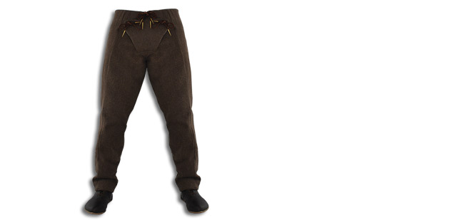 15th Century Pants, Brown