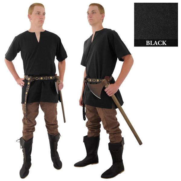 Medieval Tunic, Black