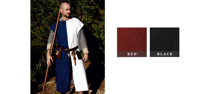 Squire's Tunic - Red / Black