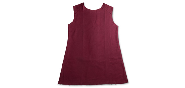 Gladiator Tunic - Burgundy