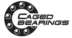 Caged bearings logo