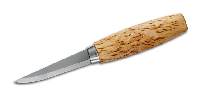 No. 8 Classic Curly Birch Carving Knife