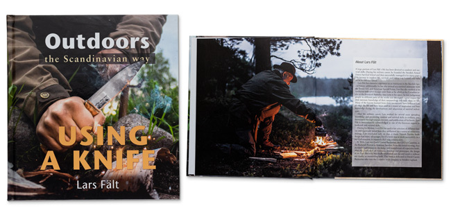 Outdoors the Scandi Way - Using a Knife Book by Lars Fält