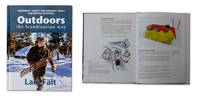 Outdoors the Scandinavian way - Winter Edition Book - by Lars Fält
