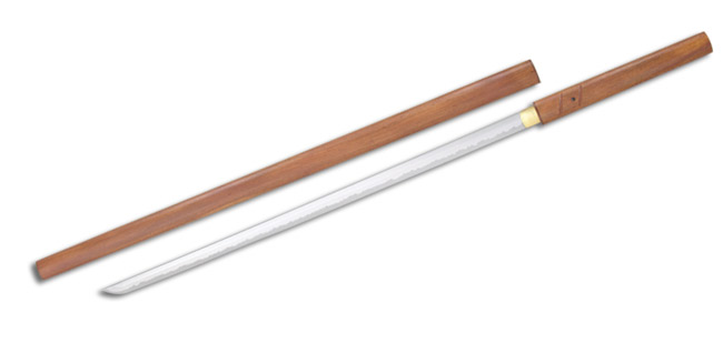 Zatoichi Stick/Sword, Folded Blade