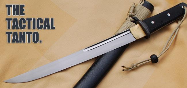Tactical Tanto 5160 Tactical Knife Paul Chen Hanwei