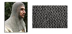Chainmail Coif, Earl Grade Code 4