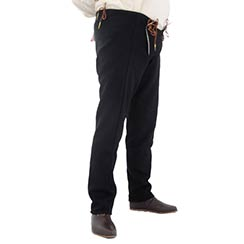 15th Century Pants Black
