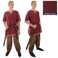 Viking Shirt, Burgundy