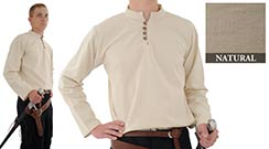 Heavy Cotton Shirt, Natural Large