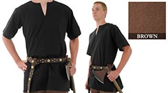 Medieval Tunic, Brown X-Large