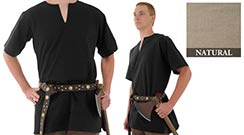 Medieval Tunic, Natural X-Large