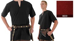 Medieval Tunic, Red X-Large