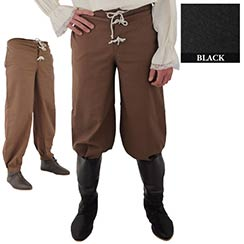 Pirate Pants, Black