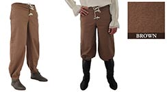 Pirate Pants, Brown Large