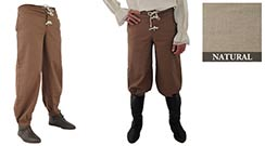 Pirate Pants, Natural XX-Large