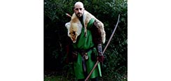 Gladiator Tunic - Green