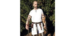 Celtic / Medieval Tunic - White
