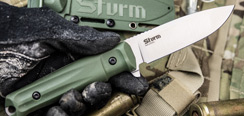 Sturm AUS-8 - Satin w/ OD Green Scales