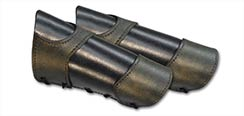 Warrior Black w/Green Bracers - Large