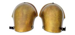 Bronze Hoplite Pauldrons Bronze Hoplite Shoulder Guards