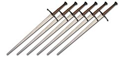 Synthetic Longsword School 6-Pack - White Blade